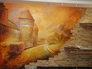 Расписать стену в частном интерьере в Н. Новгороде
